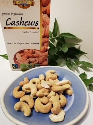 Cashew geröstete, gesalzene