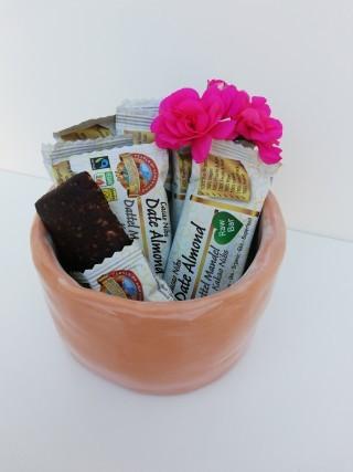 Bio Fairtrade Roher Dattel Mandel Kakao Riegel