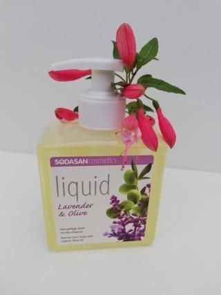 Bio-Pflanzenölseife Liquid Lavendel - Olive