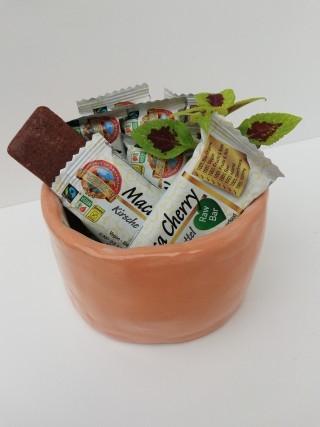 Bio Fairtrade Roher Dattel Maca Sauerkirsch Riegel
