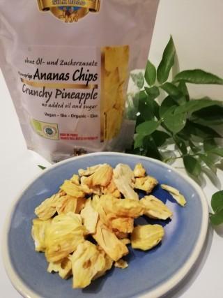 Knusprige Ananas Chips