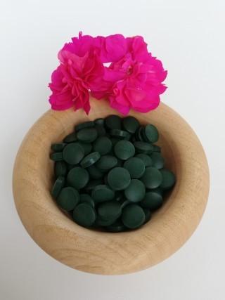 Bio Spirulina und Chlorella Tabletten