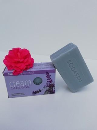Bio-Seife Cream Lavendel