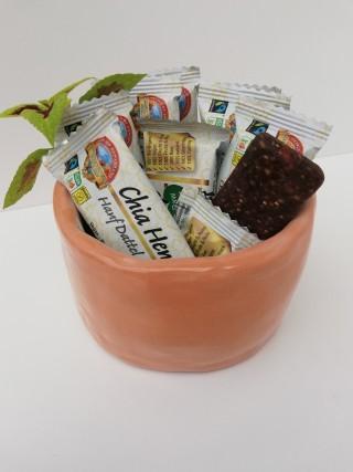 Bio Fairtrade Roher Dattel Chia Hanf Riegel
